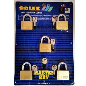 ชุดกุญแจ Master Key Solex 50mm