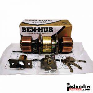 ลูกบิดประตูรมดำ BEN-HUR ระบบลูกปืน 6 ร่อง
