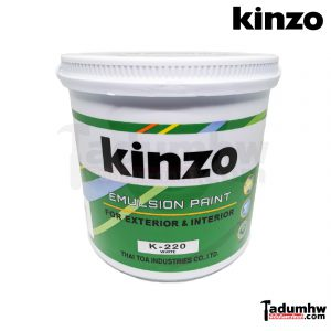 KINZO สีน้ำภายนอก k-220 1กล